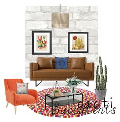 """""""Sem título #1344"""" by manarosachoque ❤ liked on Polyvore featuring interior, interiors, interior design, home, home decor, interior decorating, Universal Lighting and Decor, Dot & Bo, Harper Blvd and Pillow Perfect"""