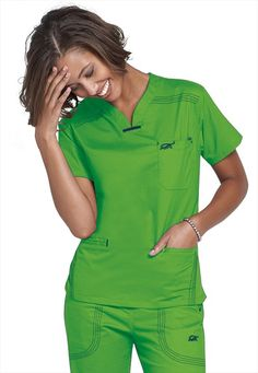 New Zealand's leading supplier of the Cherokee Brand Medical Uniforms/Scrubs. We're medical uniforms specialists providing leading innovative solutions. Green Scrubs, Cute Scrubs, Scrubs Uniform, Medical Scrubs, Nursing Scrubs, Medical Uniforms, Scrub Tops, Look Fashion, Work Wear