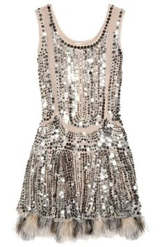 a vintage inspired dress from Anna Sui