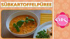 Süsskartoffelpüree als Beilage - Rezept von Gel Kochecke Ethnic Recipes, Food, Sweet Potato Side Dish, Sweet Potato Recipes, Cooking, Food Food, Meal, Eten, Meals