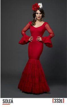 Perfecto traje rojo