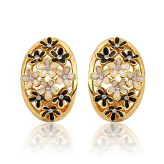 ORP European Romangic high quality Gold color Flower Wizard shape stud Earrings For Women New Fashion gift Jewelry #Affiliate