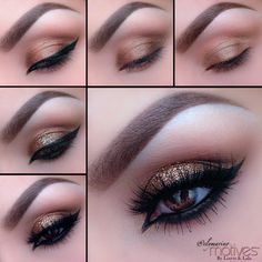 Motives by Loren Ridinger Take a look at this gorgeous sparkly look by Ely Marino using Motives cosmetics.