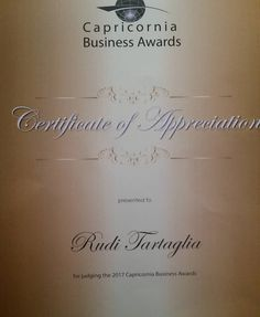 Had a great time at the Capricron Business Awards and it was a privilege to be one of the judges for 2017. #cba17 #rockhampton #businessawards #capricorniabusinessawards #qld