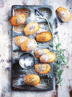 Donna Hay.....the Lady of Australia best recipe.. lavender-spiced honey madeleines