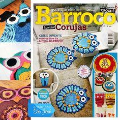 As corujas voltaram com força total e são a febre do momento! ! Garanta sua revista  Círculo  edição  especial Corujas. link : http://www.armarinhosaojose.com.br/revista-circulo-barroco-especial-corujas---unidade.55191.html  #coruja #revistacirculo #tendencia #fofurisse #facavocemesmo #produtoscirculo #saojosearmarinho