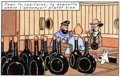 Tintin      ~~     The seacret of the capricorn