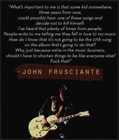 - John Frusciante
