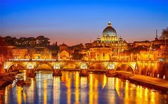 Rome. The City of Love. Appropriately named because I definitely would love to go! Soon hopefully.