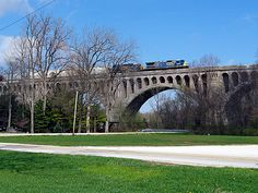 The Big Four Bridge in Sidney, Ohio!  This was AWESOME!  I want to go back!  We drive right under it!  I want a closer look!