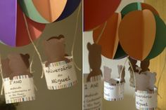 DIY - Balão decorativo de papel para festas infantis | Kids Party Decor