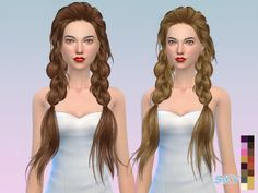 The Sims Resource: Hair-275-Paul • Sims 4 Downloads