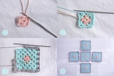 Pretty crochet baskets to get all of your supplies organized. This tutorial will take you through the step by step process on how to make your own!