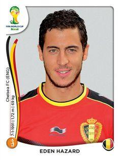 578 Eden Hazard - Bélgica - MUNDIAL BRASIL 2014