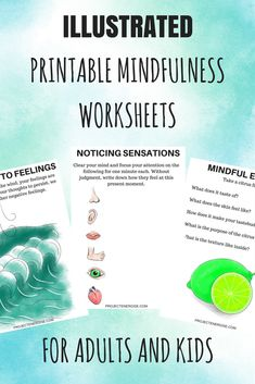 These 25 printable mindfulness worksheets are perfect for beginners to mindfulness that want a fun way to be mindful. Mindfulness for beginners worksheets. Mindfulness For Beginners, What Is Mindfulness, Mindfulness Techniques, Mindfulness Exercises, Mindfulness For Kids, Mindfulness Activities, Mindfulness Practice, Mindfulness Meditation, Mindfulness Therapy