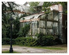 Urban Decay. Abandoned Greenhouse