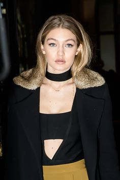 Gigi Hadid — Paris, January 22, 2016