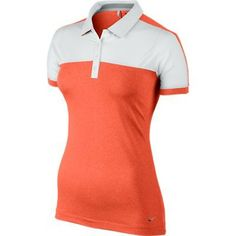 Nike Golf Ladies Sporty Polo 2014 Wilson Golf Clubs, Golf Putters, Golf Shop, Golf Irons, Sports Luxe, Nike Golf, Golf Outfit, Ladies Golf, Golf Bags