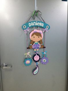 1000 images about colgantes para puerta on pinterest for Baby hospital door decoration