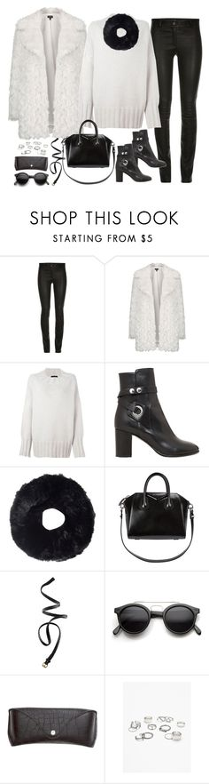 """""""Untitled#4224"""" by fashionnfacts ❤ liked on Polyvore featuring Topshop, The Row, Isabel Marant, Tory Burch, Givenchy, H&M, Retrò and Free People"""