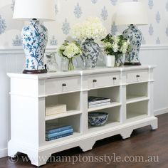 If you are looking for an entertainment unit with charming detailing, then look no further than the Hampton Entertainment Unit in bright white finish 💙 Measures: in length and is in our Sanctuary Cove store now. Hamptons Style Bedrooms, Hamptons Living Room, Hamptons Style Decor, Hampton Furniture, Living Room Furniture, Living Room Decor, Estilo Hampton, White Decor, Decoration
