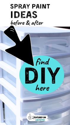 DIY projects with Spray Paint are budget-friendly and easy. Listotic has a list of Crafty DIY's you can do with just a little spray paint. Upcycle old household decor, furniture, and storage bins with some easy and inexpensive spray paint. Get all the best DIY Spray paint ideas and inspiration on Listotic. Arts And Crafts Projects, Fun Crafts, Diy Projects, Spray Paint Cans, Spray Painting, Beverage Tub, Creative Walls, Storage Bins, Cool Diy