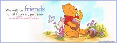 winnie the pooh quotes Cute Winnie The Pooh, Winnie The Pooh Quotes, Winnie The Pooh Friends, Friendship Quotes Images, Fb Banner, Twitter Banner, Cover Wallpaper, Cover Photo Quotes, Angel Quotes