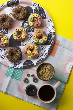 Milk and Cereal Donuts // The Sugar Hit