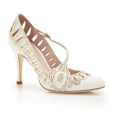Stunning New Bridal Shoes For Spring 2015 from Emmy London