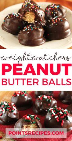 Peanut Butter Balls (Weight Watchers SmartPoints)