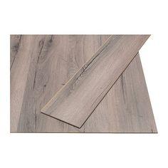 PRÄRIE Laminaatvloer IKEA Gelamineerd oppervlak; een slijtvaste vloer voor alle ruimtes in huis, uitgezonderd vochtige.