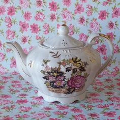 JUST REDUCED Lovely Musical Teapot With by CountryTrlCollection, $20.95