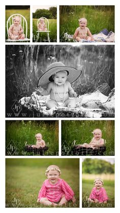 Centralia IL Newborn Baby Photographer | 6 month girl pictures | 6 month girl posing ideas | Julie Pottorff Photography | Southern Ilinois Photographer | www.juliepottorff.com | Baby photography