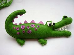 Crocodile Party Favours in 5 different colours - Custom Listing for Hannah