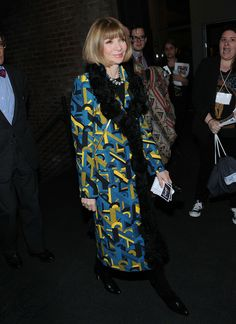 Anna Wintour - 'Alan Partridge' Screening in NYC
