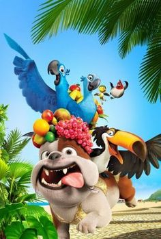 Rio (2011) movie #poster, #tshirt, #mousepad, #movieposters2