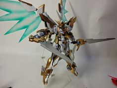 "Custom Build: 1/144 Reborns Gundam ""Lancelot"" - Gundam Kits Collection News and Reviews"
