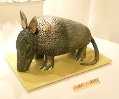 Armadillo Grooms Cake  This is such a clever groom's cake.
