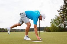Sergio Garcia golfing