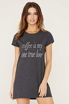 Camisón Coffee Is My One TRUE Love