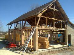 1000 images about extensions de petites maisons on pinterest extensions d - Renovation hangar en habitation ...