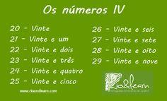 Os números IV.