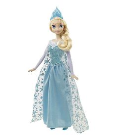 Look at this #zulilyfind! Elsa 12'' Singing Doll #zulilyfinds