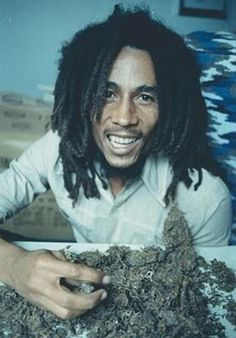 Bob Marley #ganja High Times photo shoot. Kim Gottlieb-Walker.