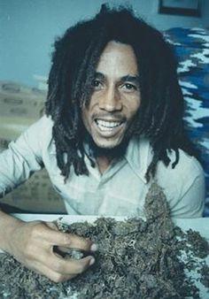 Bob Marley #ganja High Times photo shoot. Kim Gottlieb-Walker.