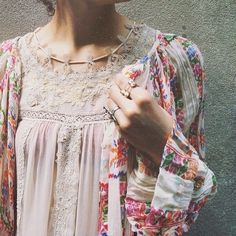 Boho Style - Pattern and lace Gypsy Style, Boho Gypsy, Bohemian Style, Mode Hippie, Mode Boho, Boho Chic, Hippie Chic, Shabby Chic, Looks Vintage