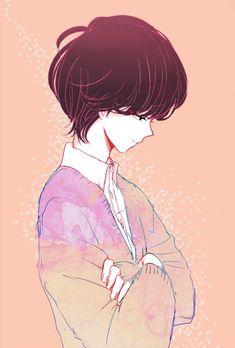 anime art boy