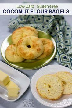Coconut flour Fat Head dough low carb bagels