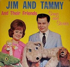 Jim and Tammy Faye Bakker (and Their Friends), Songs and Stories, LP cover. Tammy Faye Bakker, Jim Bakker, Bad Album, Lp Cover, Cover Art, Greatest Album Covers, Pochette Album, Great Albums, Weird And Wonderful