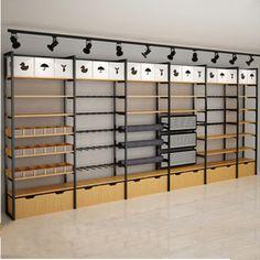 Low Budget Home Decoration Ideas Rack Design, Shelf Design, Store Design, Gift Shop Interiors, Store Interiors, Boutique Store Displays, Mobile Shop Design, Retail Shelving, Store Shelving